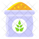 Sack Of Rice Grains Cereals Crop Icon