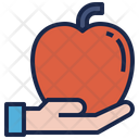 Sacrifice Apple Healthy Icon