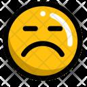 Sad Smart Upset Icon