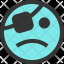 Sad pirate emoji Icon