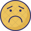 Sad Weeping Crying Icon