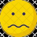 Sad Sad Face Confused Icon