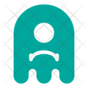 Sad Cyclop Ghost Icon