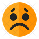 Sad Emoji Emoticon Icon