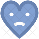 Sad Heart Sadness Icon