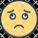 Sad Dispirited Indifferent Icon
