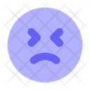 Sad Upset Emoji Icon