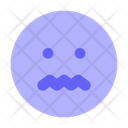 Sad Sick Face Emoji Icon
