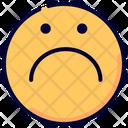 Sad Sad Face Sadness Icon