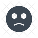 Sad Smiley Face Icon