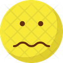 Sad Sad Face Confused Icon