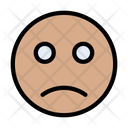 Sad React Emoji Icon