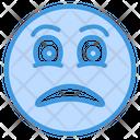 Sad Unhappy Feeling Icon