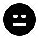 Sad Serious Emoji Icon