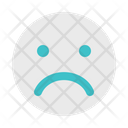 Bad Sad Emoticon Icon