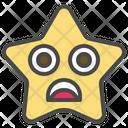Sad Unhappy Emoticon Icon