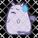 Sad Unhappy Ignored Icon