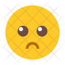 Sad Emoji Face Icon