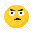 Sad Angry Frustrated Icon