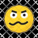 Sad Angry Angry Emoji Icon