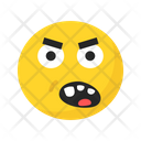 Sad Unhappy Frustrated Icon