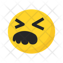 Sad Frustrated Stress Icon