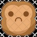 Sad Misery Monkey Icon