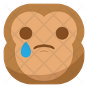 Sad Disappointed Drop Icon