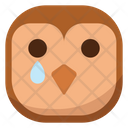 Sad Owl Icon