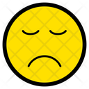 Sad Depressed Disappointed Icon