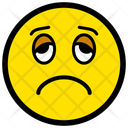 Sad Unhappy Depressed Icon