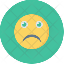 Sad Smiley Emoticon Icon