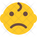 Sad Baby Smiley Icon