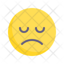Sad Depressed Grim Icon