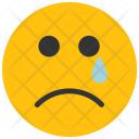 Sad Tear Emoji Icon