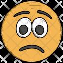 Emoji Surprised Happy Icon
