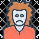 Sad Unhappy Sorrowful Icon