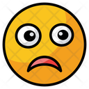 Sad Suffering Unhappy Icon