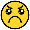 Sad Upset Sad Face Icon