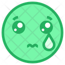 Sad And Tear Icon
