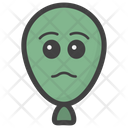 Sad Balloon Icon