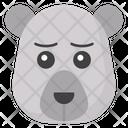 Sad Bear Icon