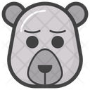 Sad Bear Icon