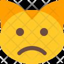 Sad Cat Icon