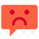 Sad chat Icon