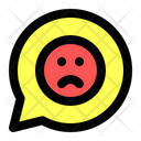 Sad Chat Icon