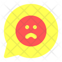 Communication Sad Emoticon Icon