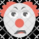 Clown Emoji Jester Icon