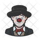 Sad Clown Sad Woman Icon