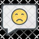 Sad Comment Icon